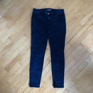 FOREVER 21 tie dye jeans